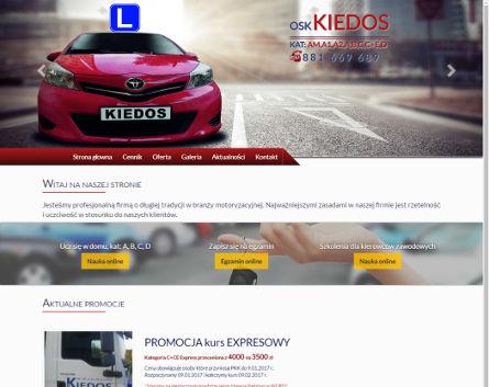 OskKiedos.net - Szkoła Nauki Jazdy w Chorzowie