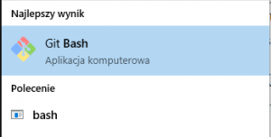 Git Bash Windows Search